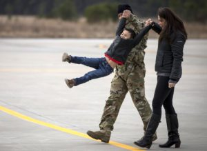 Playful time as National Guard deployment to support Operation Freedom's Sentinel Afghanistan Flys