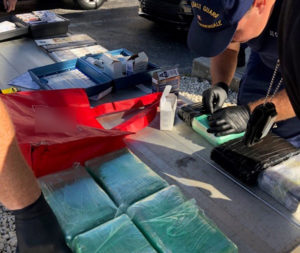 Coast Guard, HSI, CBP interdict suspected smuggler, migrants, drugs 8 miles east of Dania Beach