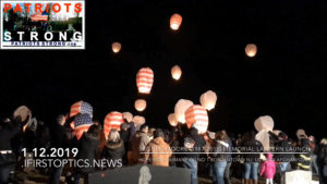 Patriots Strong – Lanterns Lift at Spc Ben Moore's Bordentown Memorial