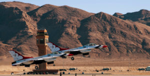 USAF Thunderbirds Takeoff