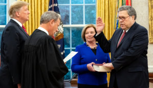 William P. Barr Confirmed As 85th Attorney General of the United States