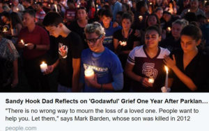 Sandy Hook Dad Reflects on 'Godawful' Grief One Year After Parkland High School Shooting