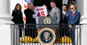 Trump Teams with Washington Nationals