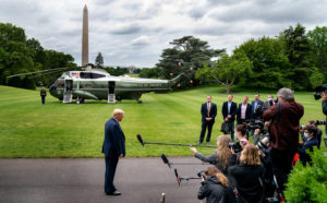 """Look, he (President Obama)  was an incompetent President.  That's all I can say.  Grossly incompetent."" President Trump Remarks After Marine One Arrival"