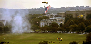 Salute to America – Golden Knights Land at White House