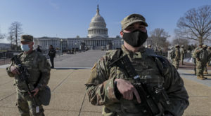 25,000 U.S. Troops Secure Capitol Inauguration